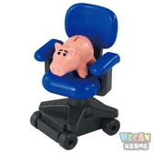 Dream TOMICA多美夢幻版小汽車 玩具總動員4 TS-09 火腿豬&安迪椅子 87501