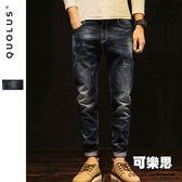 復古刷洗色彈性男生牛仔褲 休閒長褲 休閒褲 男【SW-KD035】『可樂思』