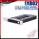 [ PCPARTY ]SilverStone 銀欣 EXB02 擴充槽轉2.5吋SAS 12Gbit/s or SATA 6 Gbit/s 硬碟擴充卡