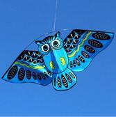 鳥類風箏貓頭鷹兒童風箏顏色艷麗微風易飛FZF7 魔法街