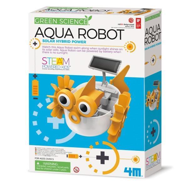 《4M科學探索》光電-水上機器人 Aqua Robot╭★ JOYBUS玩具百貨