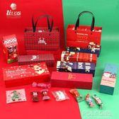 牛軋糖紙 聖誕節牛軋糖雪花酥包裝盒糖霜餅干曲奇盒子烘焙禮盒新年牛扎糖袋 極客玩家