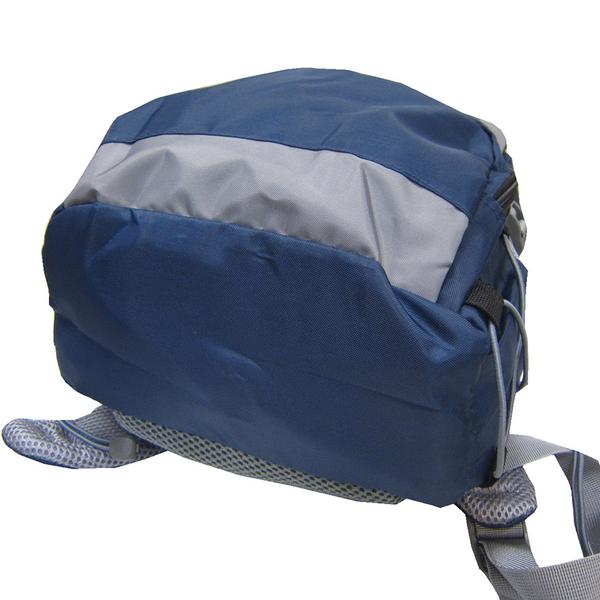 ~雪黛屋~Roberta 後背包中小容量主袋+外袋共四層超輕防水尼龍布可放A4資夾電腦套水瓶外袋NR701