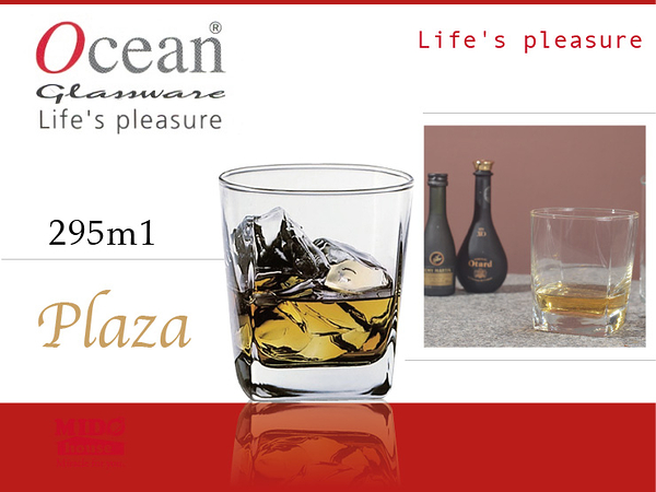 Ocean B11010 Plaza方形威士忌杯-295ml《Mstore》