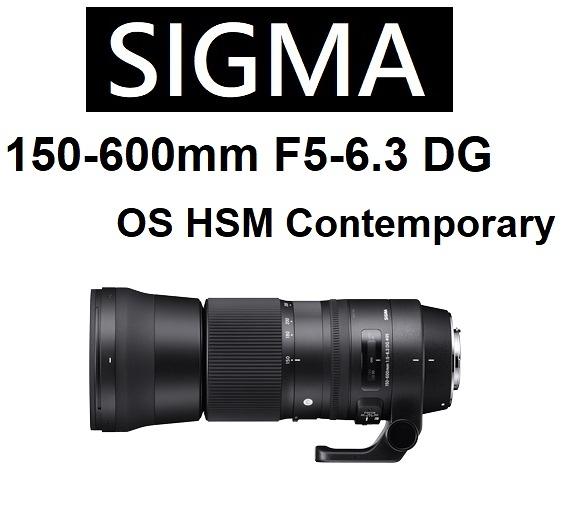 名揚數位 SIGMA 150-600mm F5-6.3 DG OS HSM Contemporary 恆伸公司貨保固三年~ (分12/24期0利率)