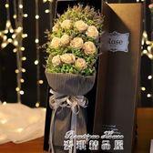 女生生日禮物浪漫玫瑰花diy香皂花束禮盒走心送女友愛人閨蜜禮物igo  麥琪精品屋