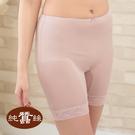 【岱妮蠶絲】FA9012E純蠶絲42針70G高腰四角蕾絲襯褲(珠粉)