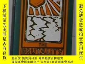二手書博民逛書店英文原版罕見Brutality of Nations by Da