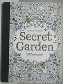 【書寶二手書T6/少年童書_CTH】Secret Garden:20 Postcards (祕密花園明信片組)_Johanna Basford