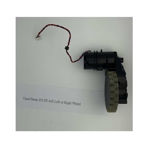 [玉山最低比價網] 二手良品 Neato D3 D5 Wifi Left or Right Wheel Assembly + Motor_d1d