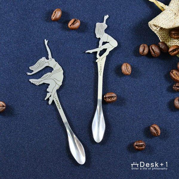 Desk+1 現代舞系列 - 攪拌匙 - 四入組