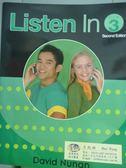 【書寶二手書T5/語言學習_PMV】Listen in-Student Book 3_David Nunan_樣書_有光