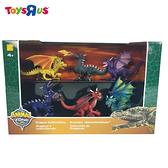 玩具反斗城 ANIMAL ZONE 6隻入小恐龍組