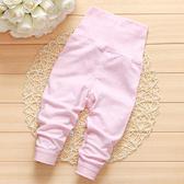 彩棉高腰護肚保暖長褲 粉色 童褲 棉質保暖褲
