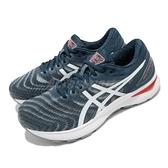asics 慢跑鞋 Gel-Nimbus 22 2E Wide 寬楦 藍 白 男鞋 高緩衝 運動鞋 【ACS】 1011A685404