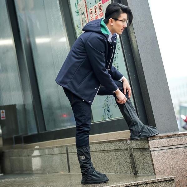鞋套雨鞋套男女款戶外防水防雨鞋套防滑加厚耐磨底成人下雨天雨靴兒童 非凡小鋪