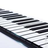 手卷鋼琴88鍵成人家用初學者便攜式加厚專業版摺疊軟鍵盤電子鋼琴 igo街頭潮人