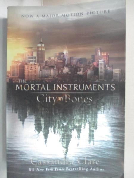 【書寶二手書T6/原文小說_DAL】City of Bones: Movie Tie-in Edition (Mortal Instruments, The)_Clare, Cassandra