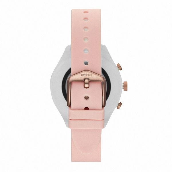 FOSSIL SPORT 運動智能錶 - 41MM 粉裸色矽膠