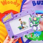 韓國大創 PIXAR 玩具總動員 巴斯光年 胡迪 造型膠片相框 桌上型相框 巴斯光年款 COCOS JP160
