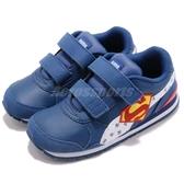 Puma 復古慢跑鞋 JL ST Runner V2 V INF 藍 白 超人 魔鬼氈 正義聯盟 童鞋 小童鞋【PUMP306】 36674302