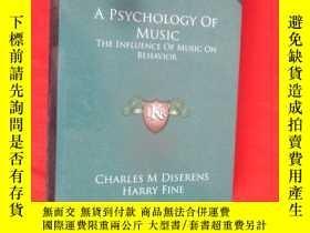 二手書博民逛書店A罕見Psychology of Music: The Infl