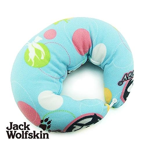 Jack Wolfskin飛狼 Hi Doggy月型抱枕