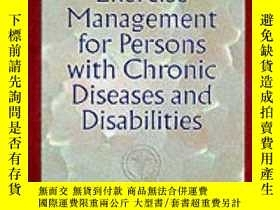 二手書博民逛書店ACSM s罕見Exercise Management for Persons with Chronic Dise