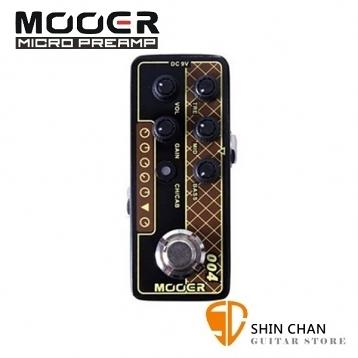 Mooer 004 Day Tripper 迷你音箱前級模擬效果器【Micro Preamp】【VOX AC30】
