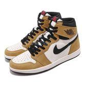 Nike Air Jordan 1 Retro High OG Rookie Of The Year 咖啡 黑 皮革 喬丹1代 男鞋 運動鞋【PUMP306】 555088-700