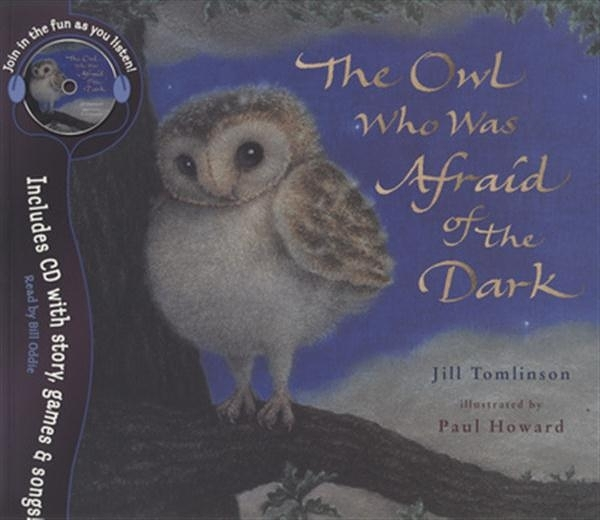 (二手書)Owl Who Was Afraid of the Dark Book & CD
