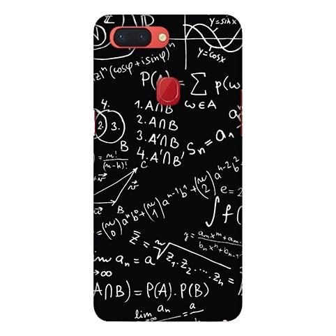 [r15 軟殼] OPPO R15 CPH1835 手機殼 外殼 保護套 數學公式