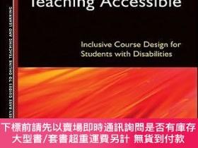 二手書博民逛書店預訂Making罕見Online Teaching Accessible: Inclusive Course De