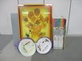 【書寶二手書T1/少年童書_RCW】夏卡爾的繪本等_共10繪本+10光碟+8別冊+8拼圖+合售_附殼
