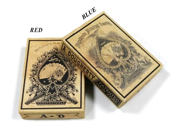 【USPCC 撲克】TRIPLICATE WEATHERED playing cards