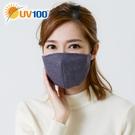 UV100 防曬 抗UV 保暖透氣防護濾片口罩-附BFE濾片5入