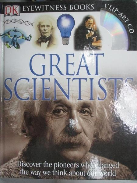 【書寶二手書T7/原文書_WEZ】Great Scientists_Fortey, Jacqueline
