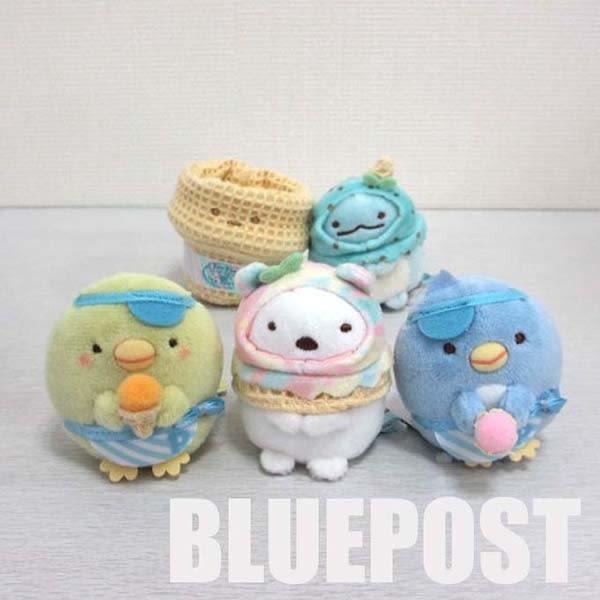 角落生物 絨毛玩偶 娃娃 SS號 冰淇淋系列 Sumikko Gurash 日本正版 該該貝比日本精品 ☆