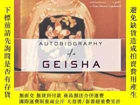 二手書博民逛書店Autobiography罕見Of A GeishaY256260 Sayo Masuda Columbia
