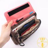 旅行小包護照包證件袋多功能斜背包防盜貼身小掛包【雲木雜貨】
