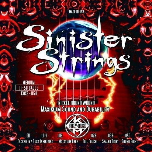 ☆ 唐尼樂器︵☆ Kerly Strings Sinister 系列冰火弦 KQXS-1150 (11-50) 美製電吉他弦
