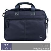 VOVA 沃汎 公事包 VA117 天際系列 藍色 紳士商務手提公事包 VA117S03BL MyBag得意時袋