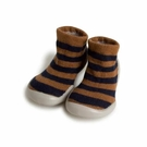 法國 Collegien 手工襪鞋 暖暖條紋-羊絨款(20-25)