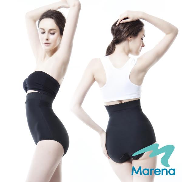【美國原裝MARENA】高腰美體褲/纖體束腹塑身褲(排扣)