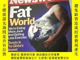 二手書博民逛書店Newsweek罕見August ll 2003【有水印】Y21