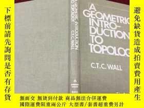 二手書博民逛書店A罕見Geometric Introduction to Top
