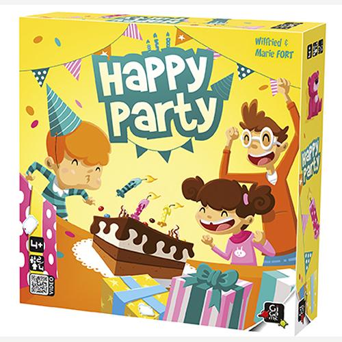 【法國桌神 Gigamic】兒童桌遊-開心派對 HAPPY PARTY GIG045