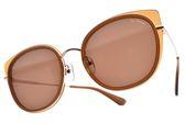 PAUL HUEMAN 太陽眼鏡 PHS1117A 11 (棕玫瑰金-棕鏡片) 韓系繽紛色貓眼款 墨鏡 # 金橘眼鏡