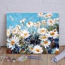 diy數字油畫客廳風景花卉動漫人物手繪大...