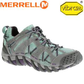 【MERRELL 美國 女款 水陸兩棲 灰/水藍】ML65234/越野鞋/休閒鞋/登山鞋/運動鞋/健行★滿額送